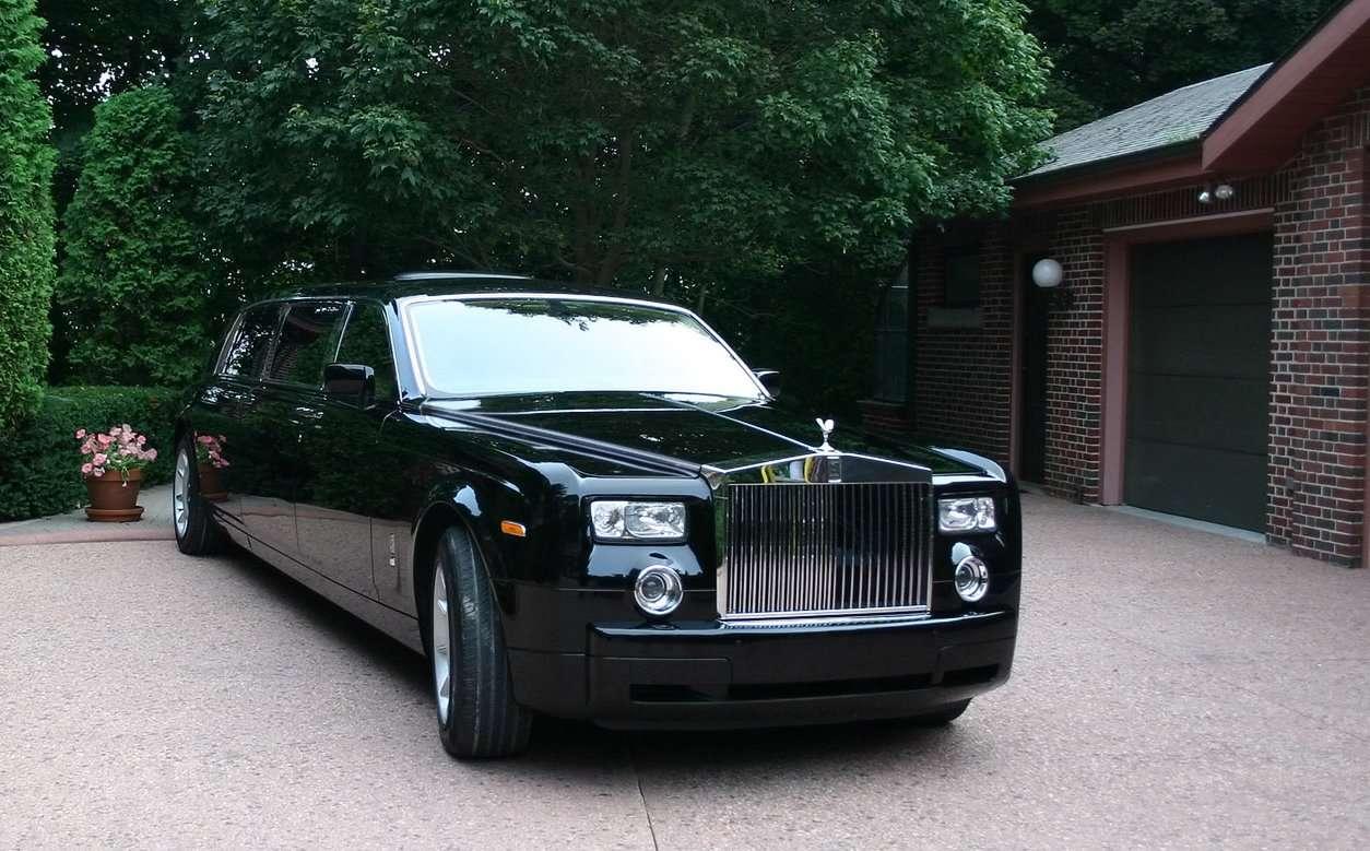Power Cars Rolls Royce Phantom Black Tie Edition By